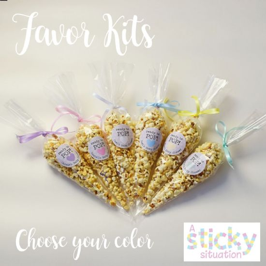 Personalised 'Ready to Pop' Popcorn Favour Kits